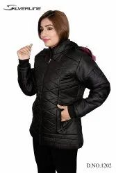 Silver line Quilted Jacket Winter Jackets For Women, Size: Free size