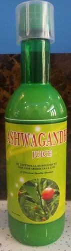 Ashwagandha Juice, Packaging Type: Bottle, Packaging Size: 1000 Ml