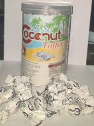 Kc Round Coconut Toffee, Packaging Type: Plastic Jar