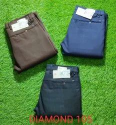 Neated,Double Cloth Narrow BLOND COTTON TROUSERS