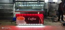 Avd Stainless Steel Tea & Coffee Stall
