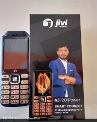 BOX Open Used Mobile, Screen Size: 2.8 Inmch, Model Name/Number: Jivi N3720 Power