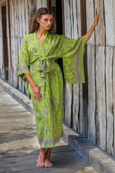 Full Sleeves Silk Kimono Beach Wear Full Body Cover Up