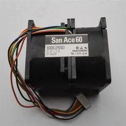 SanAce Cooling Fan 9CR0612P0S63   60x60x76MM Fan 12V 3.2A
