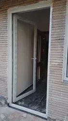 Slide & Fold Coated PVC Door, For Office, Exterior