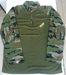 Cotton Camouflage Military URI Indian Army Tshirt Full sleeves