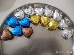 Zelos Heart Moulded dryfruit Chocolate