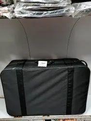 Mustafa Trunks Black 30 Inches Full Fiber Travel Suitcase