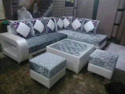 Brown And Cream Home Furniture, Size: 6 Seat Or 7 Seater