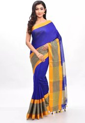 Velvet Border Bengal Handloom Saree