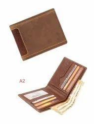 Genuine Leather Stitch Designer Wallet