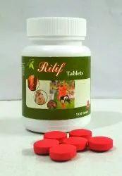 Rilif Ayurvedic Pain Relief Tablet, 10x20 Tablets, Grade Standard: Medicine Grade
