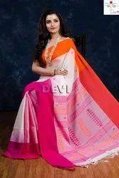 CMUL Festive Wear Khadi Saree