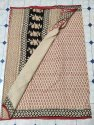 Chanderi Cotton Saree With Hand Block Print