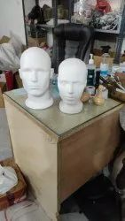 Male Face Mask Mannequin