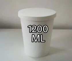 1200 ML Paper container With Lid