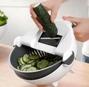 Vegetable Cutter With Drain Basket