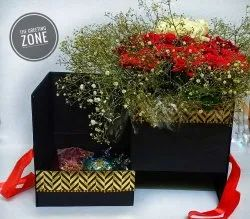 Flower Bouquet With Choclates
