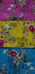 For Kurtis Floral Printed Cotton Fabric