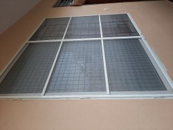Aluminium Glossy Window Mesh, Size/Dimension: 5x4