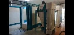 Powder Coating Booth, Cross-Flow Type, Automation Grade: Manual
