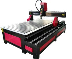 Coaxis Technologies Mild Steel CT1325SR1 Side Rotary CNC Woodworking Machine, 3 Kw, Max Job Size: 1300x2500x200 Mm