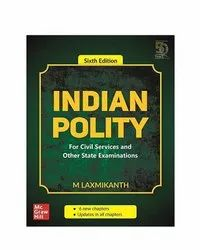 English Indian Polity Book, 6th, M.laxmikanth