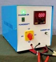 Electric Powersoft Battery Charger, Model No.: Transformer model