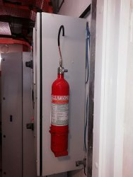 Novec 1230 Firetrace Extinguisher System, For Industrial, Capacity: 9 Kg
