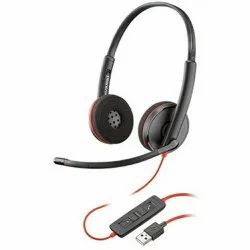 Wired Over the Head Plantronics Blackwire 3220 Binaural Direct USB UC Headset