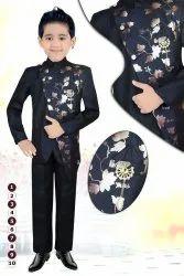 Party Black Kids Trendy Jodhpuri Suit