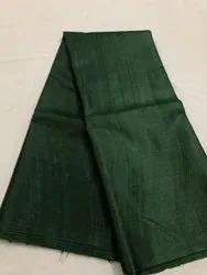 HALIM 44-45 Handloom Tussar Silk Fabric, GSM: 42-50