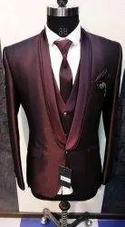 With Weskkot Wedding 5 pis mens coat suit