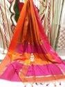 Handloom Stripes Maheshwari Saree