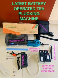 Battery Operated Tea Plucking Machine