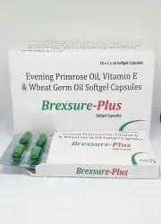 Evening Primrose Oil, Vitamin E and Wheat Grem Oil Softgel Capsules