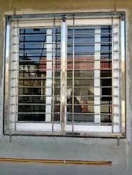 veka White 3 Treak sliding windows upvc windows, Glass Thickness: 5mm To 12mm & Dgu