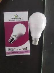 Luxwells 9 Watt Dob Led Bulb, For Home, Base Type: B22
