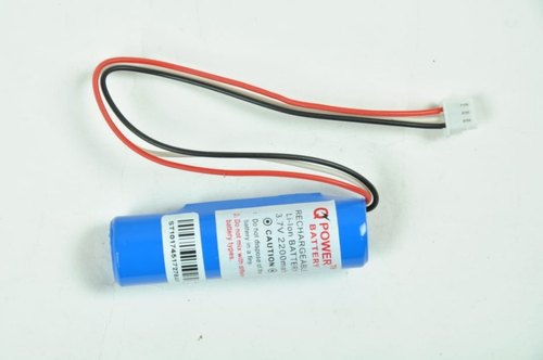 18650 With Bms 3.7v 2200mah Lithium Battery