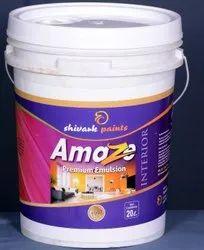 Soft Sheen White Interior Emulsion Paint, Packaging Size: 500ml-20 Litre