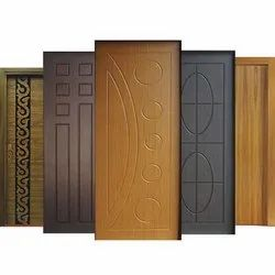 Available Glossy Wooden Design Doors, Thickness: 30 Mm