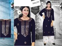 Casual Wear Cotton Ladies Designer Kurti