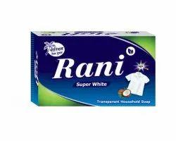 Raj Rani super White washing Soap, Pack Size: 750 Gram