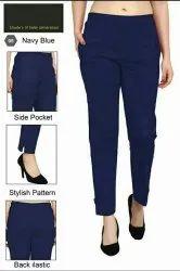 Ladies Rayon Pants