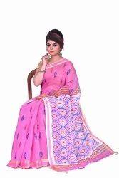 Handloom Cotton Silk Printed Sarees