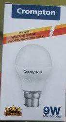 9 W Cool daylight Crompton Led Bulb
