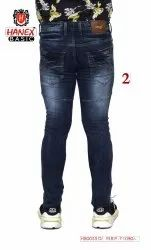 Hanex Basic Ripped Jeans For Men
