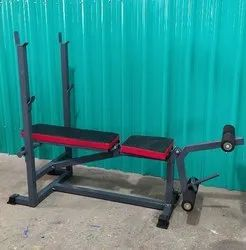 Multi Bench Press With Leg Curl/Leg Extension ( Without Rod & Weights )