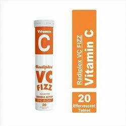 Radiplex VC Fizz Vitamin C Effervescent Tablets