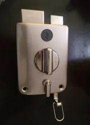 Security Lock Silver Godrej Ultra Twin Bolt